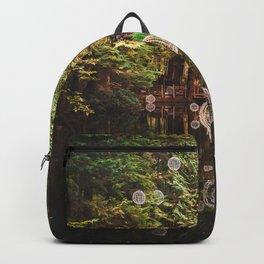Balls of Light in Forest Backpack