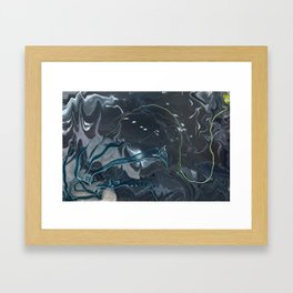 The Foreshadow Framed Art Print