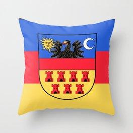 Transylvania Flag (Historical) Throw Pillow