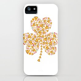 Never underestimate an old man eats pizza iPhone Case