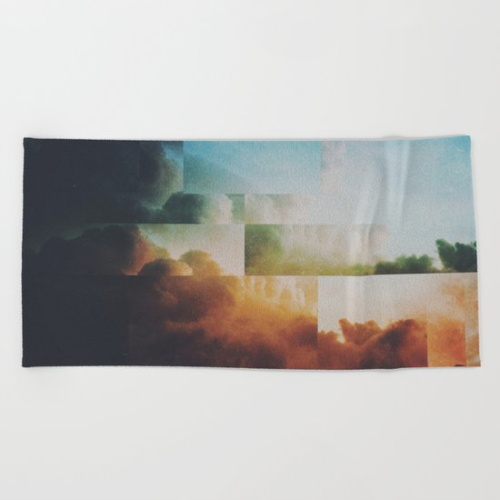 Fractions A41 Beach Towel