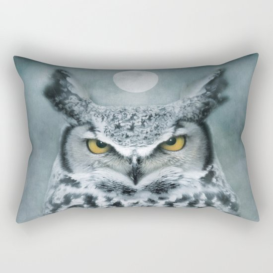 By the light of the Moon... Rectangular Pillow