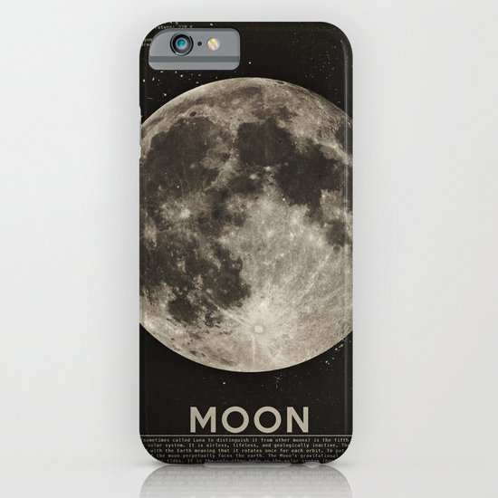 The Moon iPhone & iPod Case