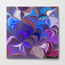 Fall colors Abstract Metal Print