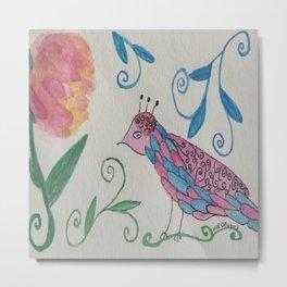 Queen Bird Metal Print