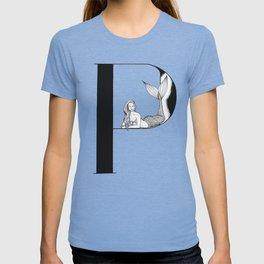 Mermaid Alphabet Series - P T-shirt