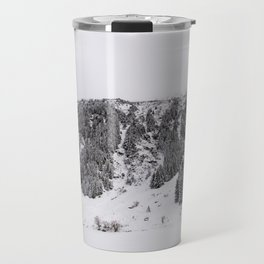 White Winterscapes III Travel Mug