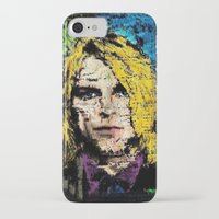 kurt cobain iPhone & iPod Cases featuring Nevermind Kurt  by brett66