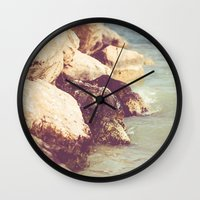 rocky Wall Clocks featuring Rocky by Patrik Lovrin Photography