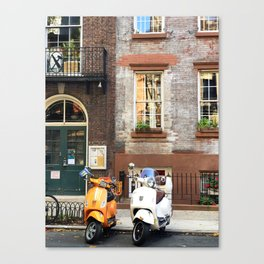 New York equality scooters Canvas Print