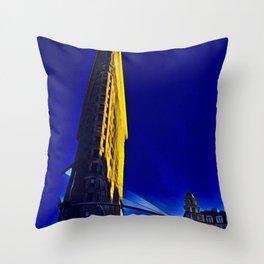 New York FlatIron Fine Art 3 Throw Pillow