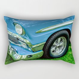 Bluesy Rectangular Pillow