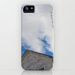 tower to the sky iPhone Case