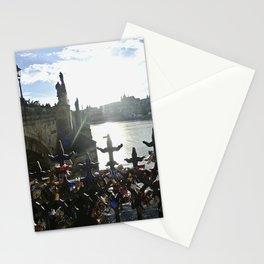 Padocks in Prague Stationery Cards