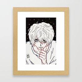 L Lawliet Framed Art Print