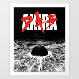 AKIRA - Neo Tokyo Is About To Explode Art Print
