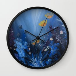 WHEN I THINK OF YOU Wall Clock