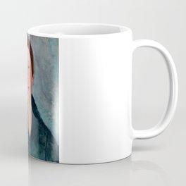 """Amedeo Modigliani """"Buste de jeune fille (Mademoiselle Marthe)"""" Coffee Mug"""