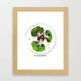 The Little Prince: Beware of Baobabs Framed Art Print