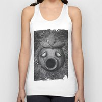 majoras mask Tank Tops featuring Deku Mask by Stephano Herrera