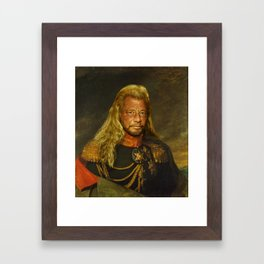 Duane 'Dog' Chapman - replaceface Framed Art Print