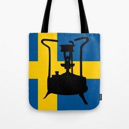 Sweden flag   Pressure stove Tote Bag
