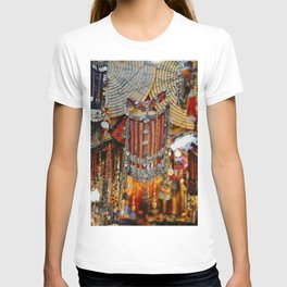 Old city in Jerusalem, Israel | Colorful mask for women | Travel photography | Fine art print T-shirt
