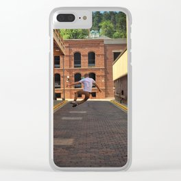 Heel Clicking Clear iPhone Case