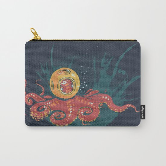 Nautical Deep Sea Diver Carry-All Pouch