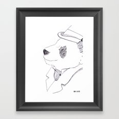 Mr. Bombadere Framed Art Print
