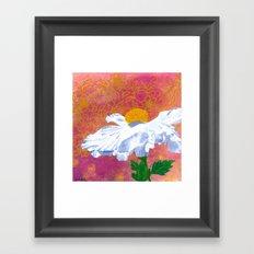 Matilija Framed Art Print