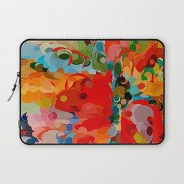 color bubble storm Laptop Sleeve