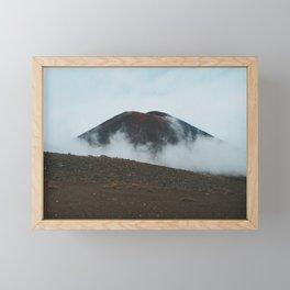 Ngauruhoe Framed Mini Art Print