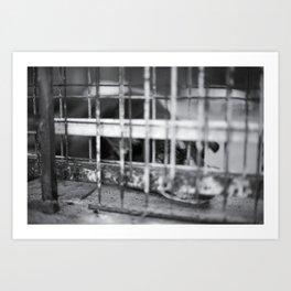 Caged & Forgotten  Art Print