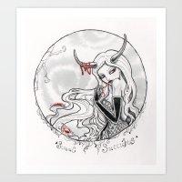 Sweet Succubus Art Print