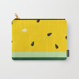 Watermelon in Yellow   Watermelon Seed   Watermelon Home Decor   pulps of wood Carry-All Pouch