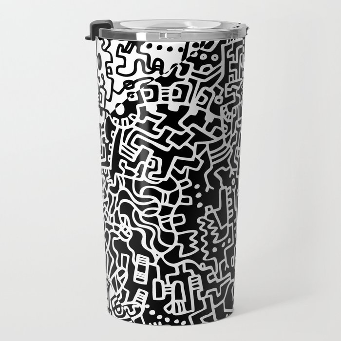 Cell Art Travel Mug
