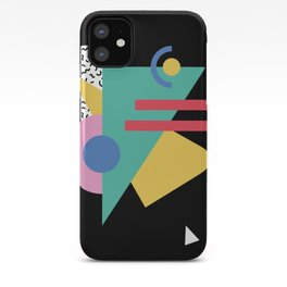 Memphis pattern 47 - 80s / 90s Retro iPhone Case