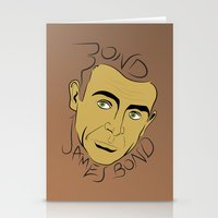 bond Stationery Cards featuring Bond, James Bond by FSDisseny