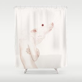 Deep Inside Shower Curtain