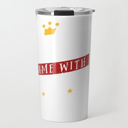 My Prince Charming Came With Dog Tags Combat Boots Travel Mug