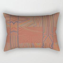 In My Tribe (Paprika) Rectangular Pillow