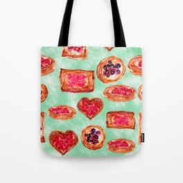 Puff Pastries Tote Bag