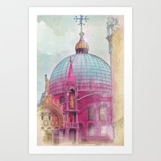 DREAMING OF SAN MARCO Art Print