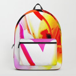 Abstract Of The Lily Backpack