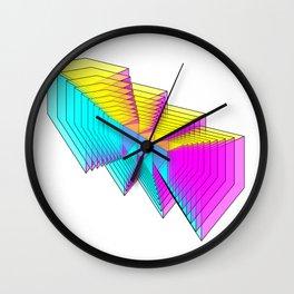 Cubes 4 Wall Clock