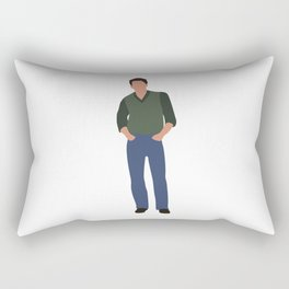 Jake Ryan Sixteen Candles 80s movie Rectangular Pillow