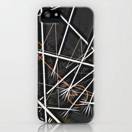 geometric interactions iPhone Case