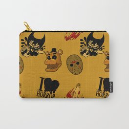 I <3 HORROR Carry-All Pouch