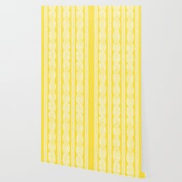 Cable Row Yellow Wallpaper